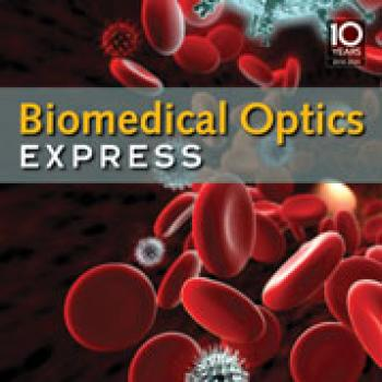 Biomedical Optics Express journal cover